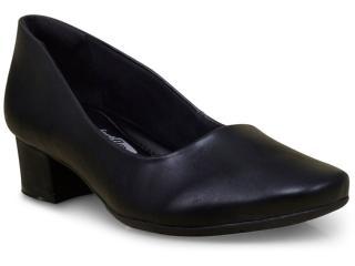 Sapato Feminino Comfortflex 17-95301 Preto - Tamanho Médio