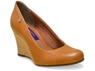 Sapato Feminino Cravo e Canela 144801/1 Camel - Tamanho Médio