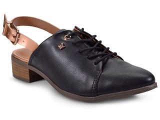 Sapato Feminino Cravo e Canela 152602/2 Preto/cobre - Tamanho Médio