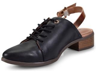 3de39aaa1 Sapato Cravo e Canela 152602/2 Pretocobre Comprar na...