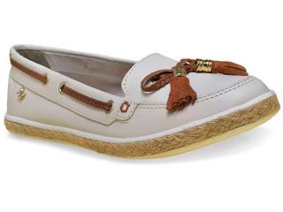 Sapato Feminino Cravo e Canela 142411/1 Off White - Tamanho Médio