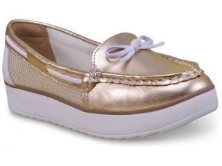 Sapato Feminino Dakota B9263 Ouro - Tamanho Médio