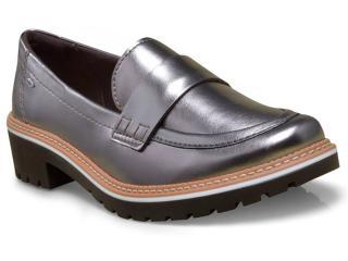 Sapato Feminino Dakota 8462 Prata Velha - Tamanho Médio