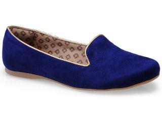 Sapato Feminino Dudinha 7000 Azul - Tamanho Médio