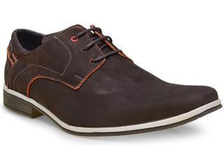 Sapato Masculino Fegalli 21015 Café - Tamanho Médio