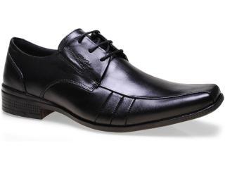 Sapato Masculino Ferracini 4348 Capri Preto - Tamanho Médio