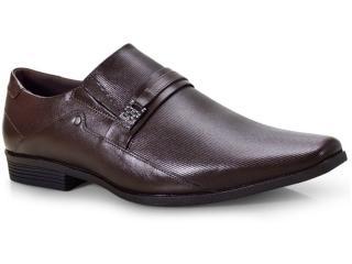 Sapato Masculino Ferracini 4059-281h Café Claro - Tamanho Médio