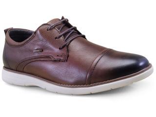 Sapato Masculino Ferracini 6120-559h Conhaque - Tamanho Médio