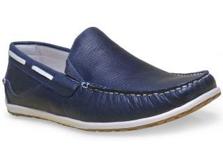 Sapato Masculino Ferricelli Ag18855 Marinho - Tamanho Médio