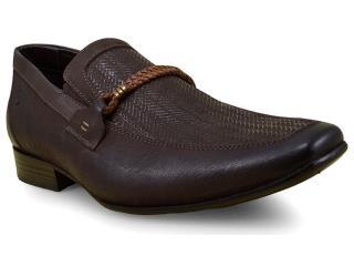 Sapato Masculino Ferricelli Slm50407 Café - Tamanho Médio