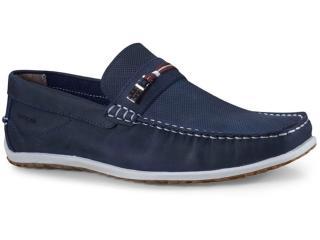 Sapato Masculino Ferricelli Ag18925 Azul/vermelho - Tamanho Médio