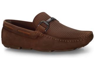 Sapato Masculino Ferricelli Lx40177 Terra/camel - Tamanho Médio