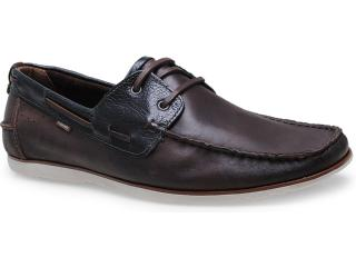 Sapato Masculino Free Way Escuna-1 Chocolate - Tamanho Médio