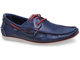 Sapato Masculino Free Way Escuna-1 Azul Cobalto - Tamanho Médio