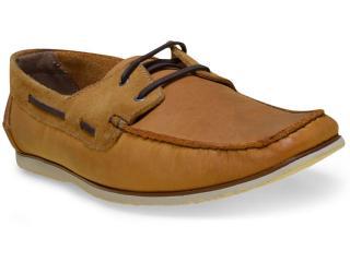 Sapato Masculino Free Way Escuna-1 Camel - Tamanho Médio