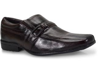Sapato Masculino J.mathias 2527 Tabaco - Tamanho Médio