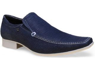 Sapato Masculino Jota pe 14208 Marinho - Tamanho Médio