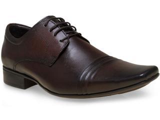 Sapato Masculino Jota pe 20033 Brown - Tamanho Médio