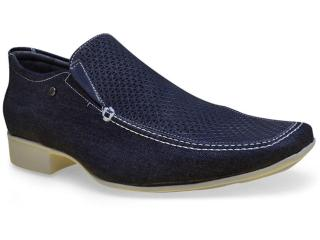 Sapato Masculino Jota pe 50763 Marinho - Tamanho Médio