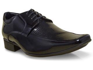 Sapato Masculino Jota pe 20015-1 Preto - Tamanho Médio