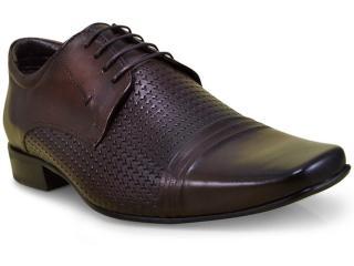 Sapato Masculino Jota pe 40771 Dark Brown - Tamanho Médio