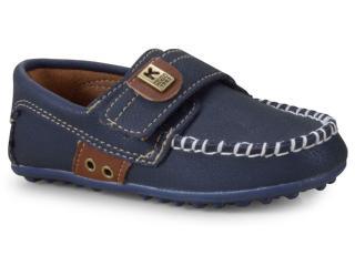 Sapato Masculino Klin 197.072 Marinho/caramelo - Tamanho Médio