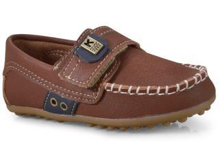 Sapato Masculino Klin 197.072 Caramelo/marinho - Tamanho Médio