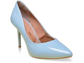Sapato Feminino Mariotta 05 Azul Claro - Tamanho Médio