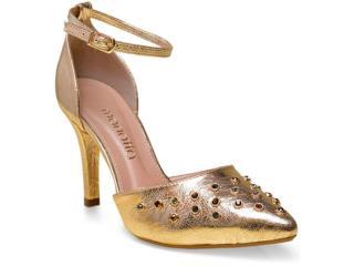Sapato Feminino Mariotta 04 Ouro - Tamanho Médio