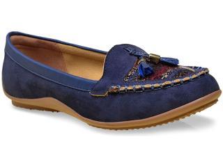 Sapato Feminino Mississipi X4374 Marinho - Tamanho Médio