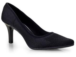 Sapato Feminino Mississipi X7531 Preto - Tamanho Médio