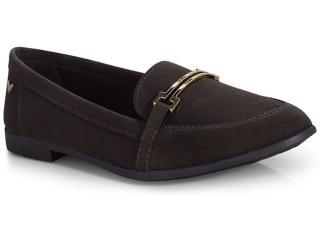 Sapato Feminino Mississipi Q0372 Café - Tamanho Médio