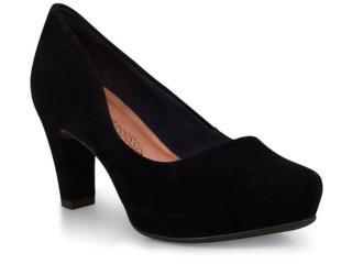 Sapato Feminino Mississipi X6751 Preto - Tamanho Médio