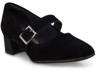 Sapato Feminino Mississipi X6321 Preto - Tamanho Médio