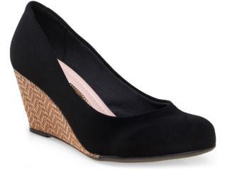 Sapato Feminino Moleca 5270500 Preto - Tamanho Médio