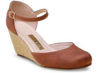 Sapato Feminino Moleca 5270501 Pinhao - Tamanho Médio