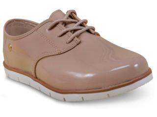 Sapato Feminino Moleca 5613304 Bege - Tamanho Médio