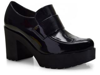 Sapato Feminino Moleca 5647101 Preto - Tamanho Médio