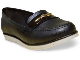 Sapato Feminino Moleca 5613206 Preto - Tamanho Médio