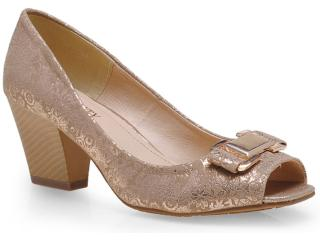 Sapato Feminino Mooncity 41503 Bege - Tamanho Médio