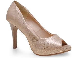 Sapato Feminino Mooncity 41303 Bege - Tamanho Médio