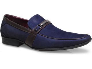 Sapato Masculino New Confort 15957 Azul - Tamanho Médio