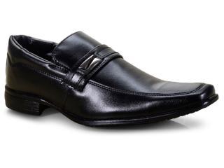 Sapato Masculino Ped Shoes 50907-c Preto - Tamanho Médio