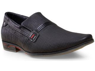 Sapato Masculino Pegada 22220-09 Trexin Preto - Tamanho Médio