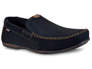 87b94ac3f1 Sapato Pegada 140707-06 Marinho Comprar na Loja online...