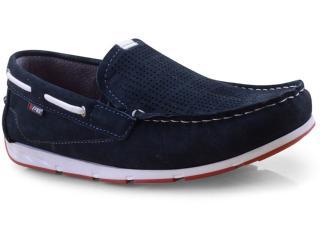 Sapato Masculino Pegada 140801-09 Marinho - Tamanho Médio