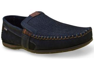 Sapato Masculino Pegada 40703-05 Marinho - Tamanho Médio