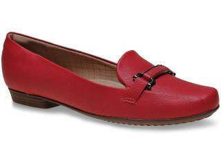 Sapato Feminino Piccadilly 250124 Vermelho - Tamanho Médio
