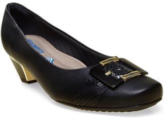 Sapato Feminino Piccadilly 320210 Preto - Tamanho Médio