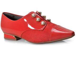 Sapato Feminino Piccadilly 278003 Vermelho - Tamanho Médio